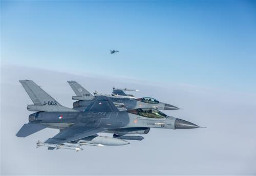 Air Policing over BENELUX